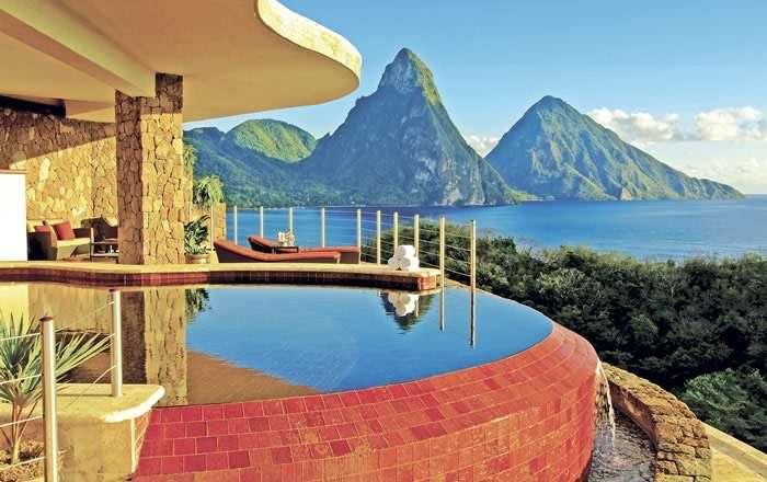 Jade Mountain Resort, Soufriere