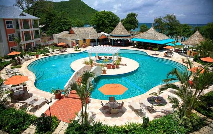 Bay Gardens Beach Resort & Spa, Gros Islet, St Lucia