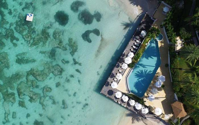 Free Room Upgrade for your Honeymoon at Blue Waters & The Cove Suites