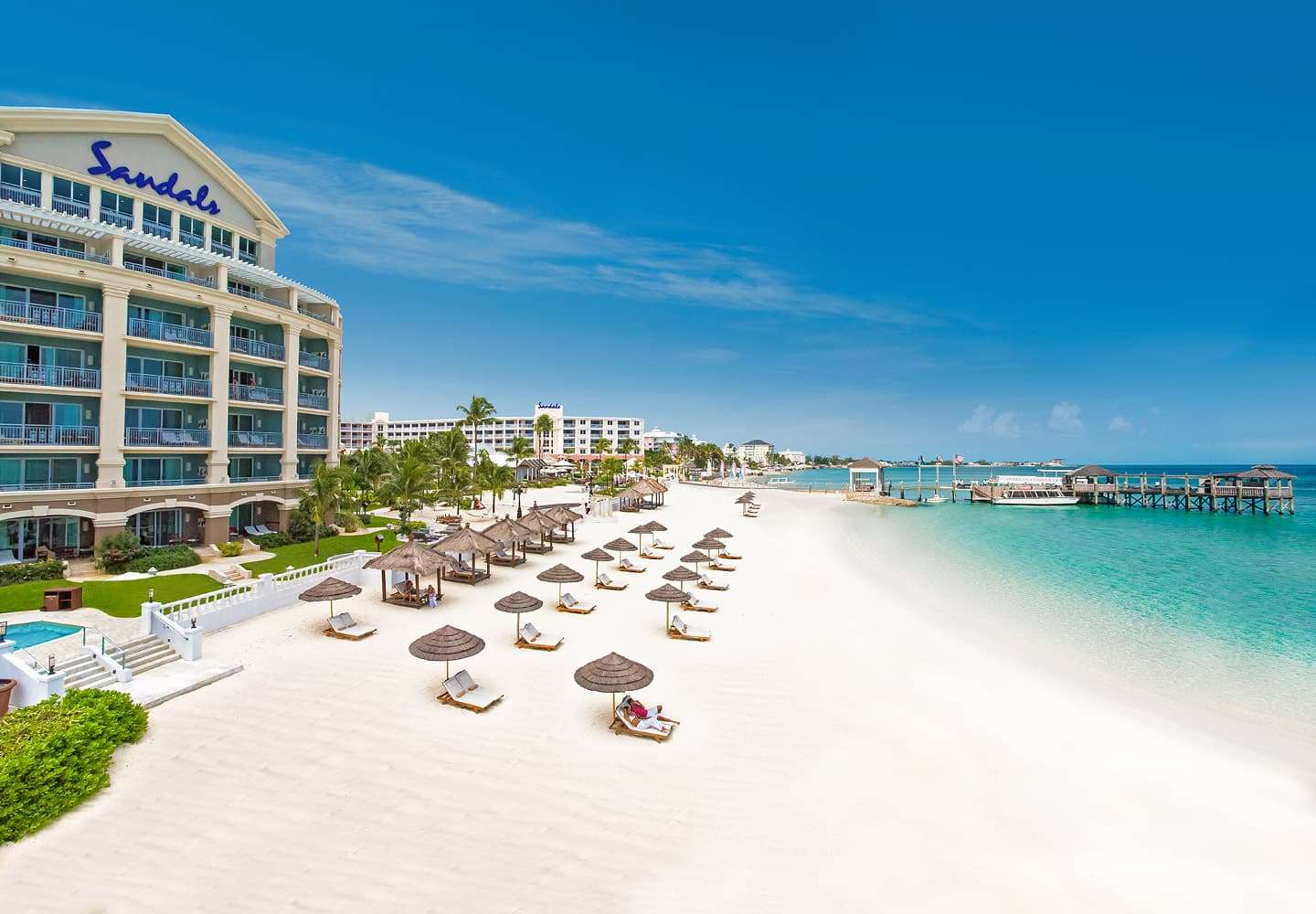 Sandals Royal Bahamian Spa Resort & Offshore Island, Nassau, Bahamas