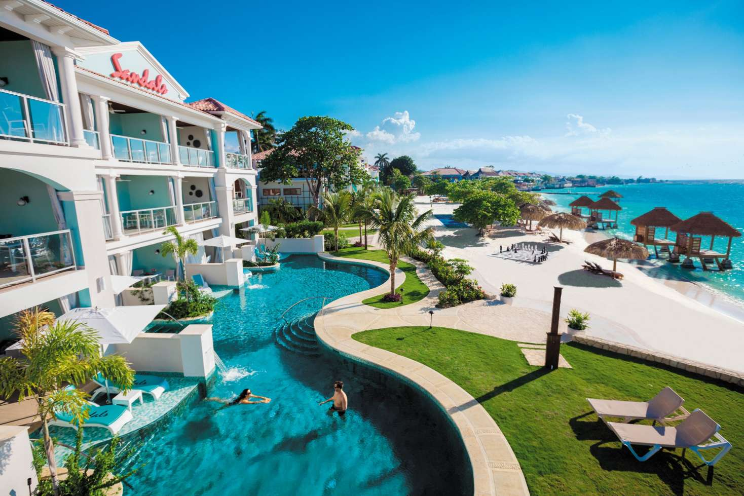 Sandals Montego Bay Saint James Jamaica  Caribbean
