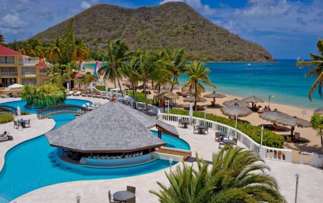 FREE Board Basis Upgrade to Bed & Breakfst at St. Lucia Escape