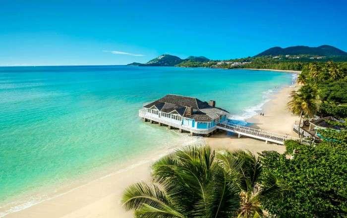 Sandals Halcyon Beach, Castries, St Lucia