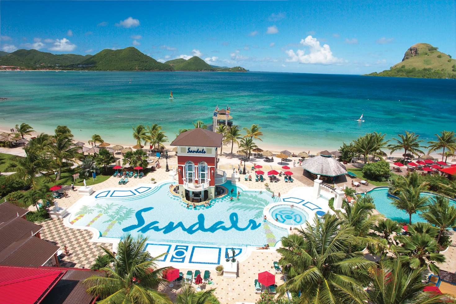 Sandals Grande St. Lucian Spa & Beach Resort, Gros Islet, St Lucia