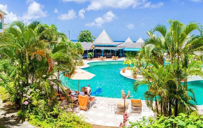 Bay Gardens Beach Resort Spa Gros Islet St Lucia Caribbean