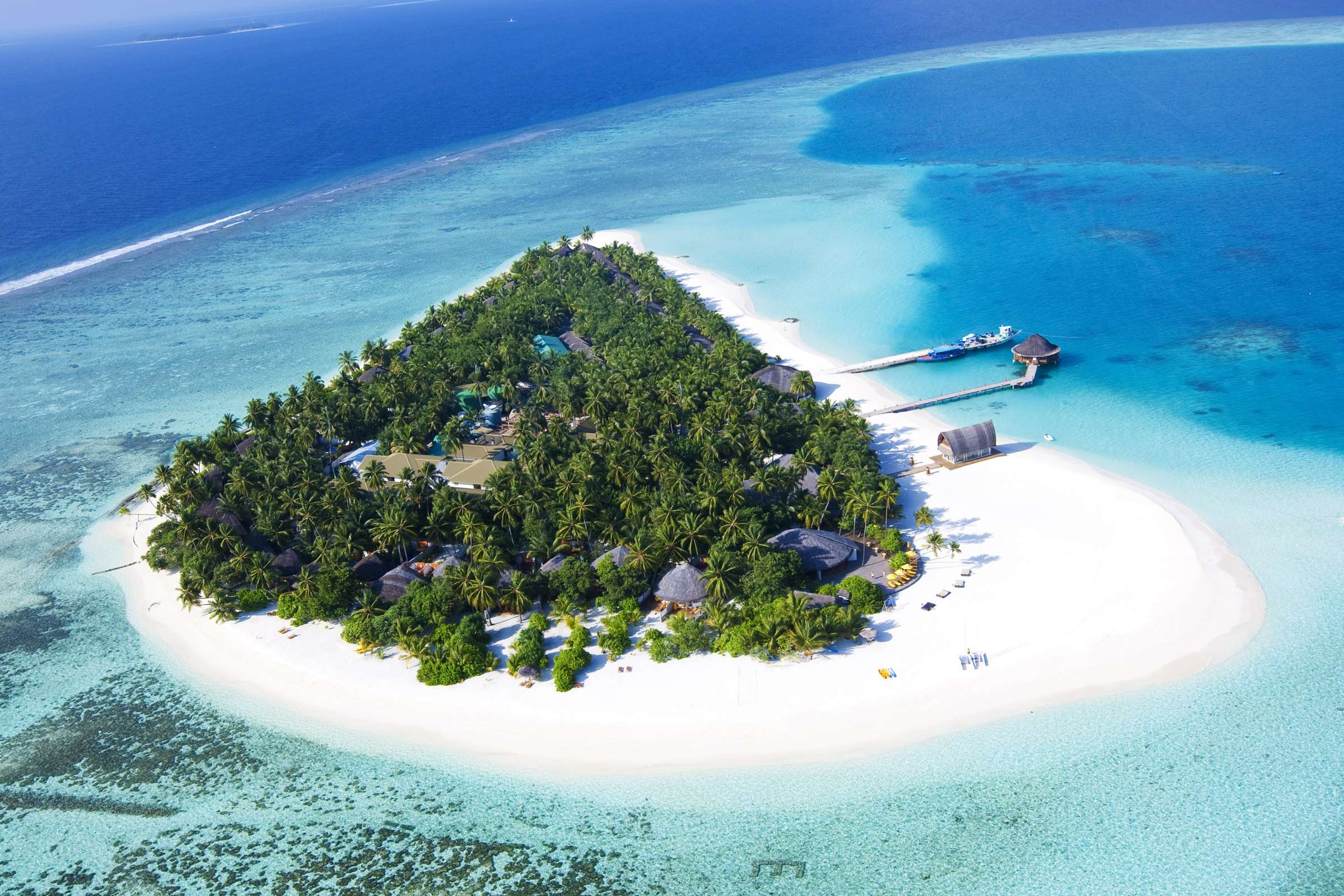 Maldives: Luxury 5* All-Inc Private Island Retreat inc. Water Villa w/Infinity Pool Upgrade & Extras - Save 50%