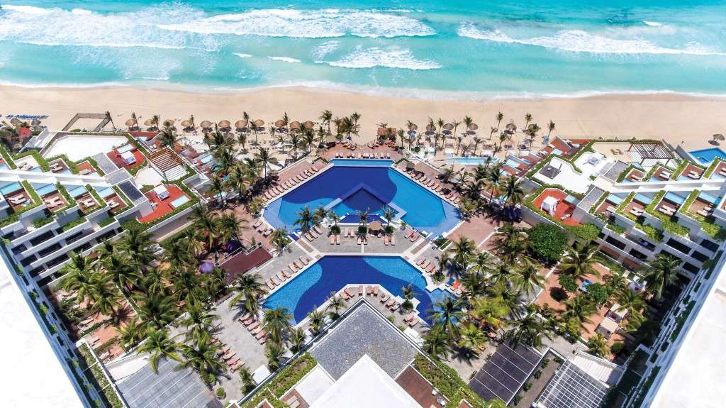 5* All-Inc Beachfront Cancun Holiday w/FREE Ocean Front Upgrade, Spa Treatment & More - Save 60%